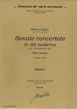 Dario Castello - Sonata concerto in stil moderno libro primo vol 1 and 2 completo - Sheet Music - di-arezzo.com