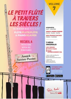 - The Little Flute Through The Centuries Vol.7 - Collection A - Sheet Music - di-arezzo.com