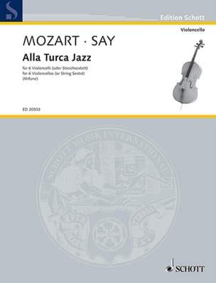 Mozart Wolfgang Amadeus / Fazil Say - Alla Turca Jazz - Partition - di-arezzo.fr