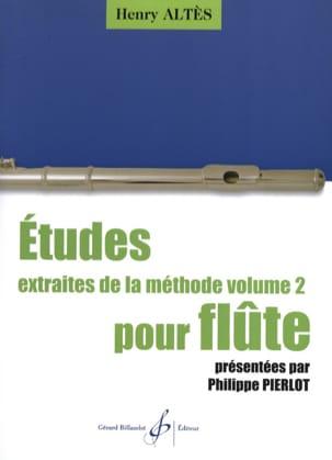 Henri Altès - Etudes Extraites de la Méthode Volume 2 - Partition - di-arezzo.fr