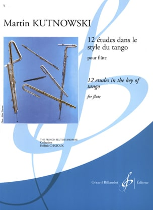 Martin Kutnowski - 12 Studies in Tango Style - Sheet Music - di-arezzo.co.uk
