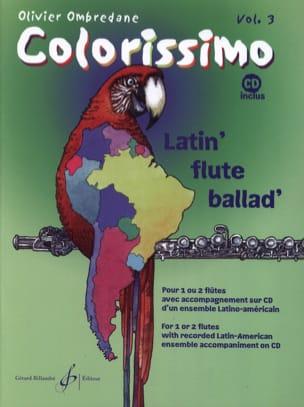 Olivier Ombredane - Colorissimo - Volume 3 - Partition - di-arezzo.fr