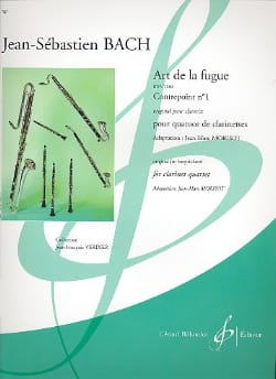 Art de la Fugue BACH Partition Clarinette - laflutedepan