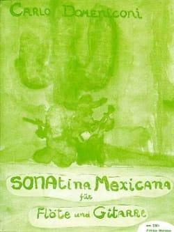 Sonatina Mexicana - Carlo Domeniconi - Partition - laflutedepan.com