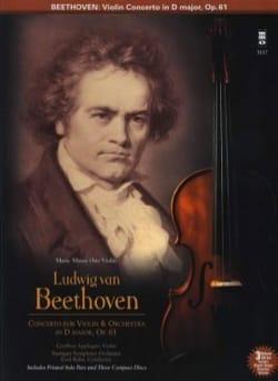 Violin Concerto In D Major Op 61 BEETHOVEN Partition laflutedepan