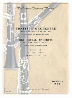 Jacques Merrer - Strings Of Orchestra Vol 1 For Small Clarinet In E Flat - Sheet Music - di-arezzo.co.uk
