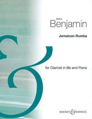 Jamaican Rumba Arthur Benjamin Partition Clarinette - laflutedepan