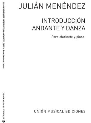 Introduccion, Andante Y Danza - Julian Menendez - laflutedepan.com