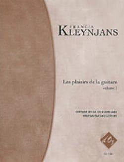 Les Plaisirs De la Guitare, Vol 1 Francis Kleynjans laflutedepan