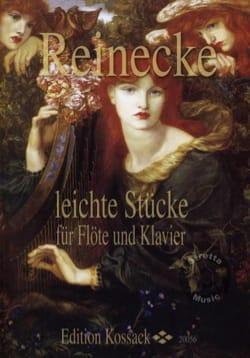 Carl Reinecke - Leichte Stücke fur Flöte und Klavier - Partition - di-arezzo.fr
