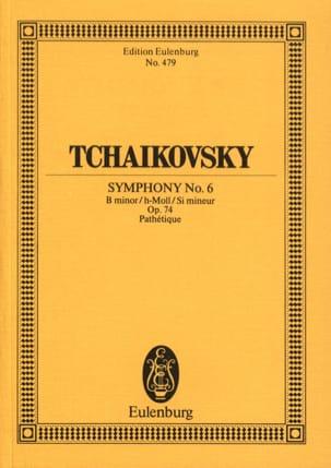 Symphonie N° 6 h-moll op. 74 Pathétique - Partitur laflutedepan