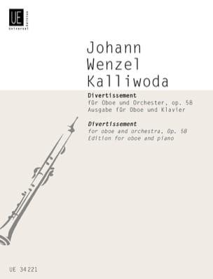 Divertissement - Opus 58 Johannes Wenzeslaus Kalliwoda laflutedepan
