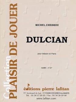 Dulcian Michel Chebrou Partition Basson - laflutedepan