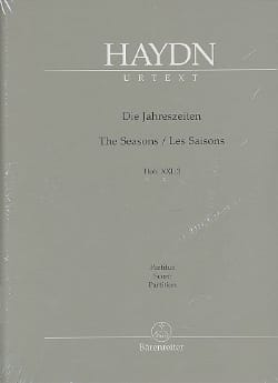 Les Saisons, Oratorio HAYDN Partition Grand format - laflutedepan
