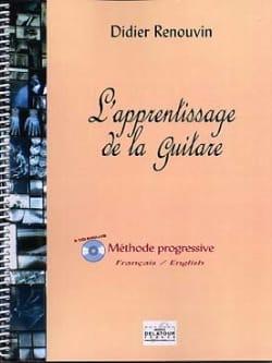 Didier Renouvin - L' Apprentissage De la Guitare - Partition - di-arezzo.fr