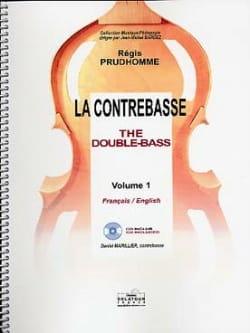 Régis Prud'homme - La Contrebasse Volume 1 - Partition - di-arezzo.fr