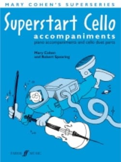 Superstart Cello piano accompagnement Mary Cohen laflutedepan