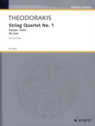 Quatuor A Cordes N°1 - The Turn - Mikis Theodorakis - laflutedepan.com