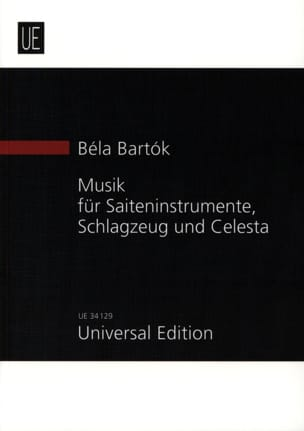 BARTOK - Music for Strings, Percussion and Celesta New study score - Sheet Music - di-arezzo.co.uk