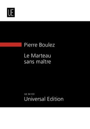 Pierre Boulez - The masterless hammer - Sheet Music - di-arezzo.co.uk