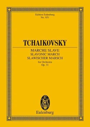 TCHAIKOVSKY - Marche Slave, op. 31 - Partition - di-arezzo.fr
