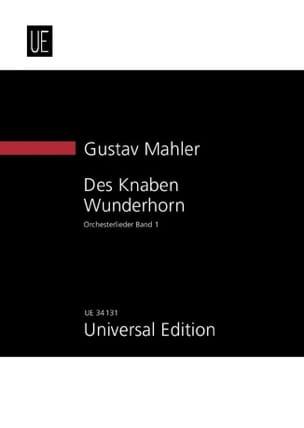 Gustav Mahler - Des Knaben Wunderhorn, Bd. 1 New study score - Partition - di-arezzo.fr