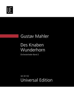 Gustav Mahler - Des Knaben Wunderhorn, Bd. 2 New study score - Partition - di-arezzo.fr