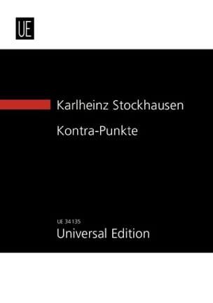 Karlheinz Stockhausen - Kontra - Punkte (New study score) - Partition - di-arezzo.fr