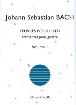 Oeuvres Pour Luth Volume 1 - Trancript. Guitare - laflutedepan.com