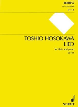 Toshio Hosokawa - Lied - Partition - di-arezzo.fr