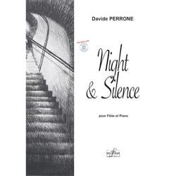 Davide Perrone - Night & Silence Pour Flute et Piano - Partition - di-arezzo.fr