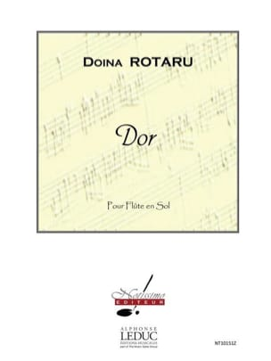 Dor - Doina Rotaru - Partition - Flûte traversière - laflutedepan.com