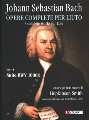 BACH - Suite BWV 1006a - Partition - di-arezzo.fr