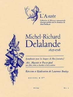 Michel-Richard Delalande - Air, Musette and Foot - Sheet Music - di-arezzo.com