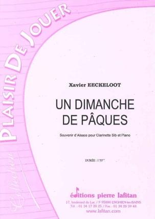 Xavier Eeckeloot - Un Dimanche de Pâques - Partition - di-arezzo.fr