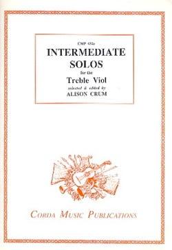 - Intermediate solos for the Treble Viol - Partition - di-arezzo.fr