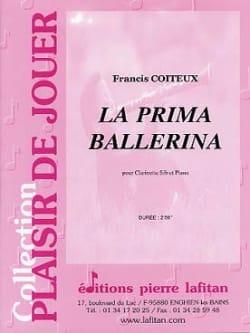 Francis Coiteux - La Prima Ballerina - Partition - di-arezzo.fr