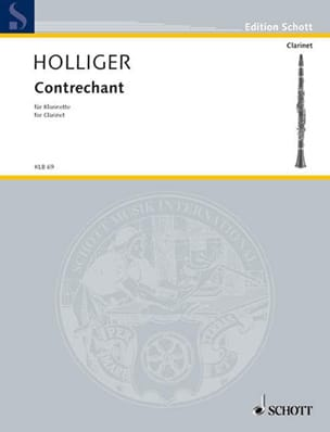 Contrechant - Heinz Holliger - Partition - laflutedepan.com