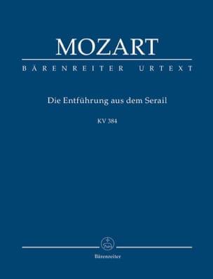 Wolfgang Amadeus Mozart - Die Entführung aus dem Serail - Partition - di-arezzo.fr