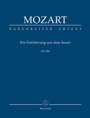 MOZART - Die Entführung aus dem Serail - Sheet Music - di-arezzo.co.uk