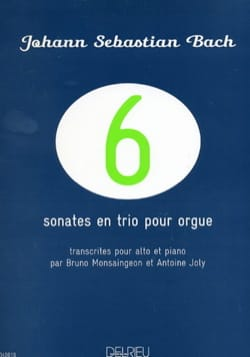 BACH - 6 Sonates en Trio pour Orgue - BWV 525-530 - Partition - di-arezzo.fr
