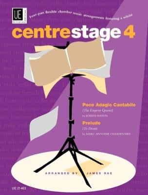 HAYDN - Poco Adagio Cantabile & Prelude du Te Deum - Centrestage 4 - Partition - di-arezzo.fr