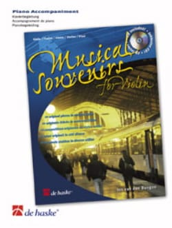 - Musical Souvenirs For Violon- Accompagnement Piano - Partition - di-arezzo.fr