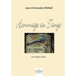 Jean Christophe Rosaz - Tribute to Tango - Sheet Music - di-arezzo.com