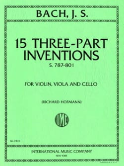 BACH - 15 Inventions - 3 votes - Sheet Music - di-arezzo.com