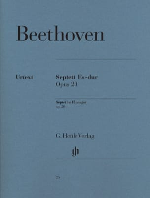 BEETHOVEN - Septuor in E flat major op. 20 - Sheet Music - di-arezzo.co.uk