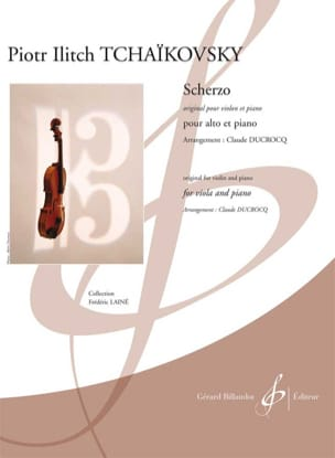 Piotr Tschaïkowsky - Scherzo - Partition - di-arezzo.fr