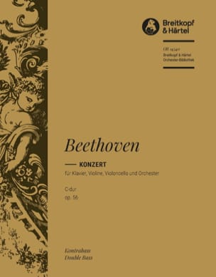Konzert C-Dur op. 56 Triple-Konzert - contrebasse - laflutedepan.com