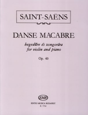 Camille Saint-Saëns - Dance Macabre Op. 40 - Sheet Music - di-arezzo.co.uk
