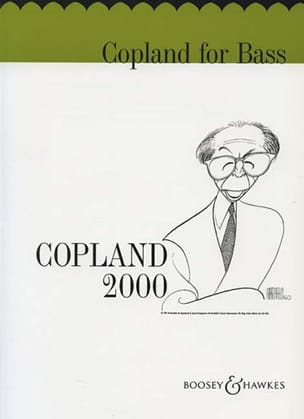 Aaron Copland - Copland for Bass - Partition - di-arezzo.fr
